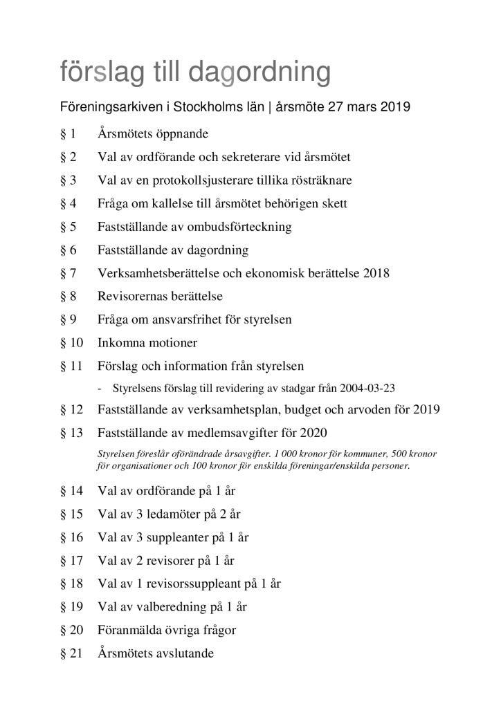 thumbnail of FSL Årsmötesdagordning 2019